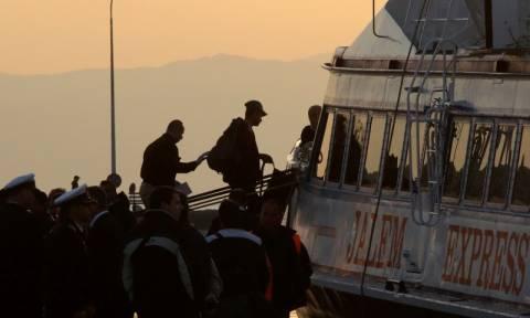Στην Τουρκία έφτασαν οι πρώτοι μετανάστες από τη Λέσβο και τη Χίο (photos - video)
