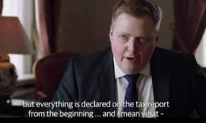 Ο Ισλανδός πρωθυπουργός έφυγε από συνέντευξη σε ερώτηση για τα Panama Papers (video)