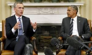 Ομπάμα - Στόλτενμπεργκ συζήτησαν για τις κοινές δράσεις εναντίον των τζιχαντιστών