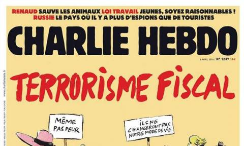 Το εντυπωσιακό εξώφυλλο του Charlie Hebdo για τις αποκαλύψεις των Panama Papers (pic)