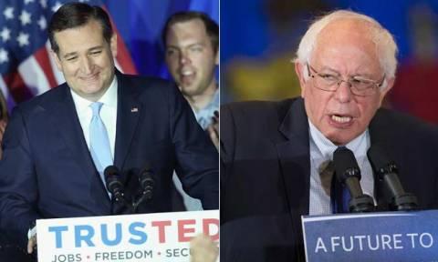 Εκλογές ΗΠΑ 2016: Κρουζ και Σάντερς οι νικητές των προκριματικών αναμετρήσεων στο Ουισκόνσιν