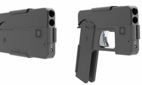 Συναγερμός στις αστυνομικές αρχές για το πιστόλι-smartphone: Φθηνό, κρυφό και θανατηφόρο (Vid)