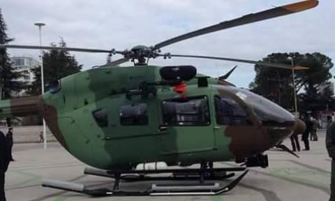 Στρατιωτικό ελικόπτερο συνετρίβη στην Αλβανία
