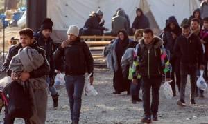 Ανοιχτή η εθνική οδός Θεσσαλονίκης - Ευζώνων μετά την αποχώρηση των προσφύγων