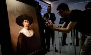 Αλγόριθμος… καλλιτέχνης ζωγράφισε πίνακα του Ρέμπραντ! (video)