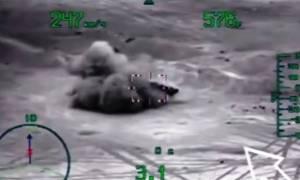 Δείτε πώς η Ρωσία «τσακίζει» τον ISIS στη Συρία – Βίντεο ντοκουμέντο