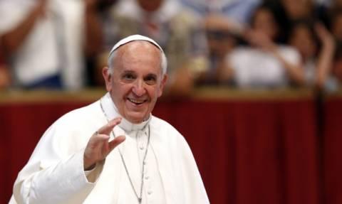 Ανακοινώθηκε και επίσημα η ημερομηνία άφιξης του Πάπα στην Ελλάδα