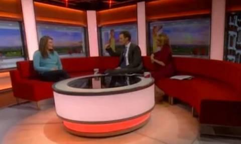 Πανικός στο πρωινό: Η μυστηριώδης εμφάνιση που σόκαρε τηλεθεατές και καλεσμένους! (video)
