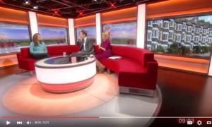 Ανεξήγητο: Φάντασμα κόβει την ανάσα του κοινού σε ζωντανή εκπομπή του BBC (Vid)
