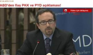 Ο πρέσβης των ΗΠΑ στην Άγκυρα κάλεσε το PKK να καταθέσει τα όπλα του