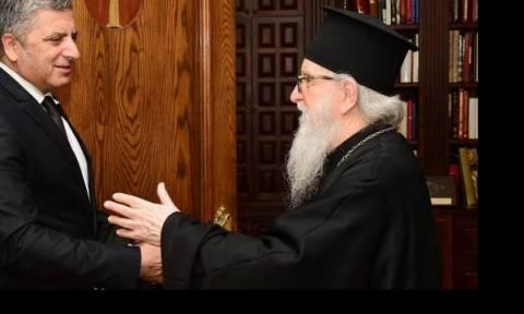 Συγχαρητήρια του Αρχιεπισκόπου Αμερικής στον Γ. Πατούλη