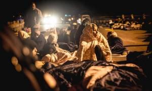 Λάρισα: Σε άλλο καταυλισμό θα μεταφερθούν οι πρόσφυγες που έκλεισαν την Εθνική Οδό