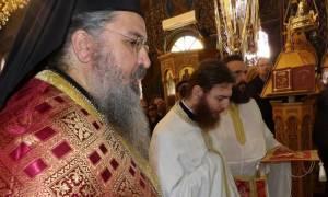 Ο Κορίνθου Διονύσιος στον Άγιο Δημήτριο Εξαμιλίων (pics)