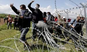 Ειδομένη: Σκοπιανοί πυροβόλησαν γυναικόπαιδα με σφαίρες καουτσούκ (photo)