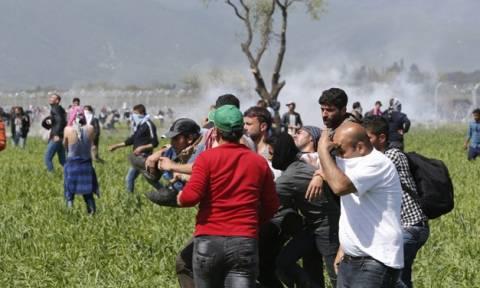 Ειδομένη: Επτά τραυματίες εξαιτίας των επεισοδίων- Εκτονώνεται σταδιακά η κατάσταση