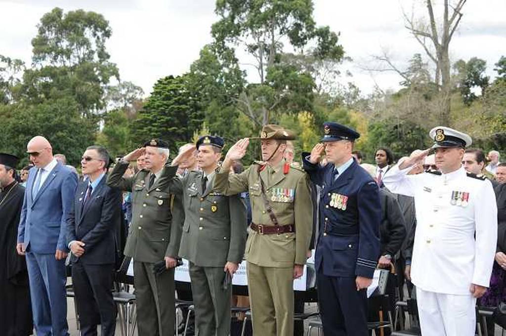 Λαμπροί εορτασμοί για την 75η επέτειο της Μάχης της Κρήτης στην Αυστραλία (pics)