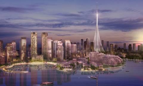 Εντυπωσιακές εικόνες: Στα σκαριά ο ψηλότερος ουρανοξύστης του κόσμου στο Ντουμπάι