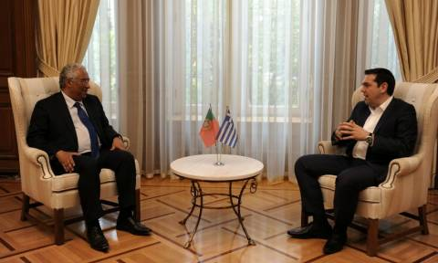Τσίπρας: Ελλάδα και Πορτογαλία μπορούν να βοηθήσουν την Ευρώπη να βρει πάλι τις αξίες της (vid)