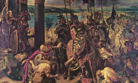 Σαν σήμερα το 1204 η Κωνσταντινούπολη καταλαμβάνεται από τους Σταυροφόρους