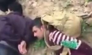 Βίντεο σοκ: Βούλγαροι κυνηγοί κεφαλών συλλαμβάνουν πρόσφυγες