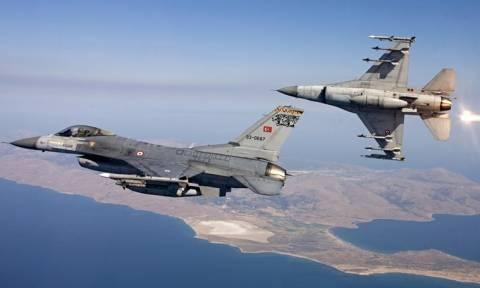 Προκλήσεις των Τούρκων στο Αιγαίο: «Διάτρητος» ο εναέριος χώρος και η κυβέρνηση το... βιολί της!