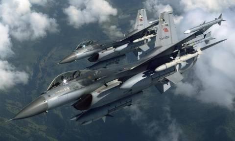 Εντείνουν τις προκλήσεις οι Τούρκοι στο Αιγαίο: Νέα παραβίαση του εναερίου χώρου από τουρκικά F-16
