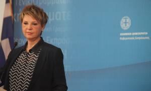 Γεροβασίλη: Δείτε live την ενημέρωση της κυβερνητικής εκπροσώπου