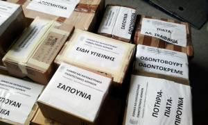 Προσφυγικό: Ιατροφαρμακευτικό υλικό και είδη πρώτης ανάγκης από το ΕΚΠΑ