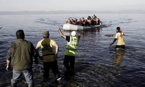 Μειωμένες παραμένουν οι προσφυγικές ροές από την Τουρκία στα νησιά