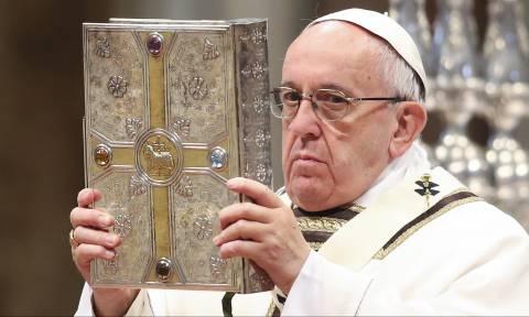 Πάπας Φραγκίσκος: «Αλληλεγγύη στους πρόσφυγες, στους Μυτιληνιούς και στον ελληνικό λαό» (Vid)