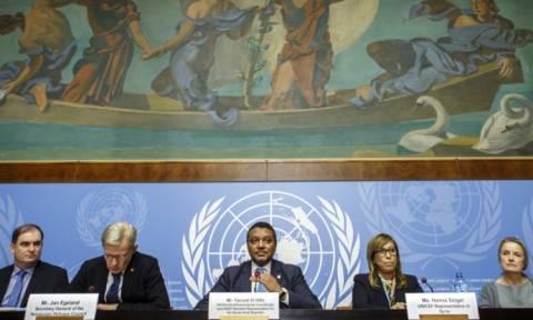 Συρία: Ξεκινούν οι ειρηνευτικές συνομιλίες καθώς ο Άσαντ διεξάγει εκλογές (Vids)