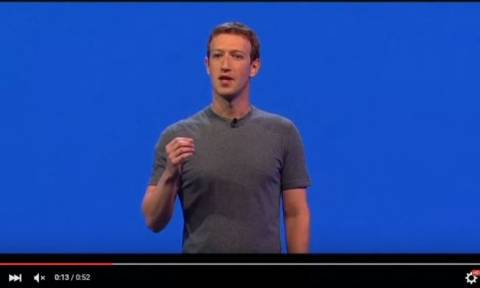 «Ξεσπάθωσε» ο Μαρκ Ζούκερμπεργκ του Facebook κατά του Ντόναλντ Τραμπ (Vid)