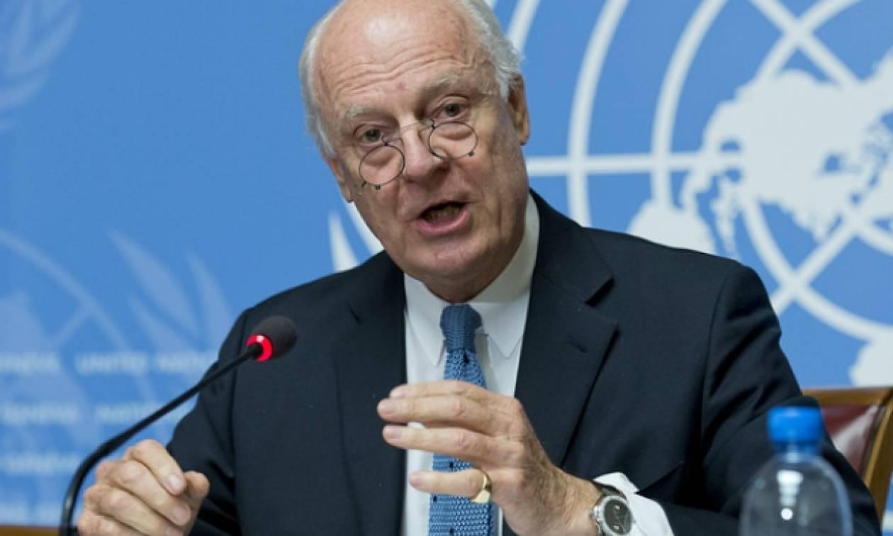 Τη δέσμευση των πλευρών για ανανέωση της εκεχειρίας στην Συρία ζήτησε ο μεσολαβητής του ΟΗΕ