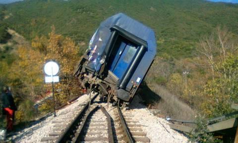 Κανονικά η σιδηροδρομική συγκοινωνία μετά τον εκτροχιασμό τρένου στο Λιανοκλάδι