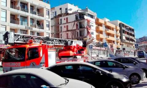 Τραγωδία με κατάρρευση κτηρίου σε τουριστικό θέρετρο στην Τενερίφη (pic+vid)