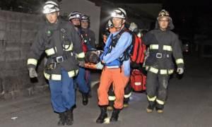 Τρεις νεκροί και δεκάδες τραυματίες από τον νέο ισχυρό σεισμό στη νοτιοδυτική Ιαπωνία (pics+vid)