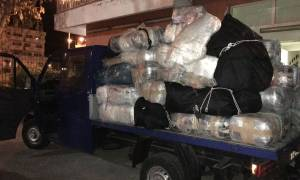 Περισσότερο από 1,5 τόνο χασίς έχει «ψαρέψει» μέχρι τώρα το λιμεναρχείο Κέρκυρας