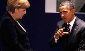 Συνάντηση Ομπάμα - Μέρκελ για την ελληνική κρίση