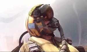 Ηνίοχος 2016: Ολοκληρώθηκε με επιτυχία η αεροπορική άσκηση - Νέο εντυπωσιακό βίντεο