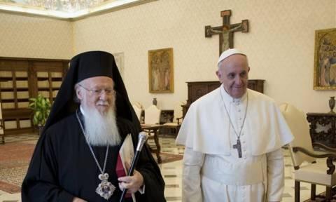 Επί ποδός για την ιστορική συνάντηση Βαρθολομαίου, Ιερώνυμου και Πάπα στη Μυτιλήνη