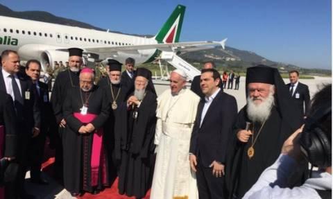 Μυτιλήνη - Τσίπρας: Η επίσκεψη του Πάπα αποτελεί σημαντική πρωτοβουλία σε μια κρίσιμη στιγμή