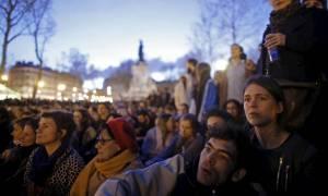 Συλλήψεις στην Πλατεία Δημοκρατίας στο Παρίσι