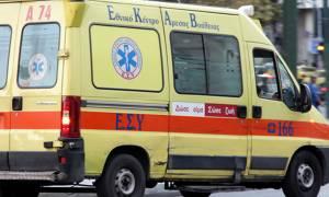 Σοβαρό τροχαίο με επτά τραυματίες στην εθνική οδό Ηρακλείου - Χανίων