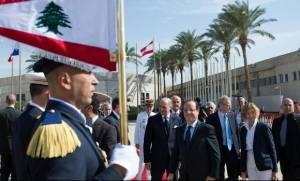 Στο Λίβανο ο Φρανσουά Ολάντ