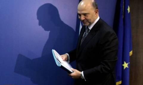 Μοσκοβισί: «Η δουλειά πρέπει να συνεχιστεί» με την Αθήνα ενόψει Eurogroup