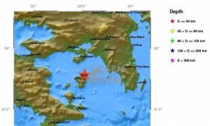 Σεισμός 4,2 Ρίχτερ κοντά στην Αθήνα