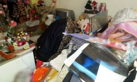 Θεσσαλονίκη: Πάνω από 6,5 τόνοι απορριμμάτων εντοπίστηκαν σε σπίτι - τρώγλη! (pics)