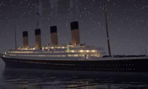 Απίστευτο βίντεο: Καρέ - καρέ η βύθιση του Τιτανικού