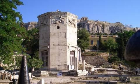 Εντυπωσιακή ξενάγηση από ψηλά στην Αρχαία αγορά της Αθήνας (video)