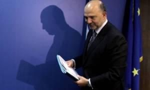 Μοσκοβισί: Χρειαζόμαστε το ΔΝΤ στο ελληνικό πρόγραμμα – Δεν τίθεται θέμα Grexit